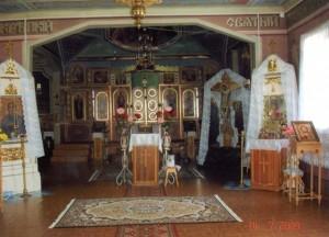 Внутреннее убранство Приход в честь Казанской иконы Божией Матери