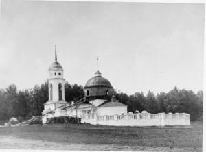 Разрушенный Савво-Сторожевский храм