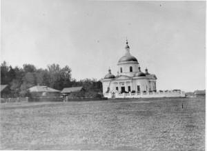 Разрушенный Преображенский храм